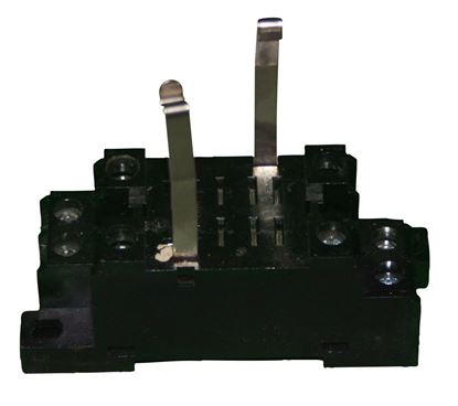 Picture of Model 3550412, 8 pin relay base