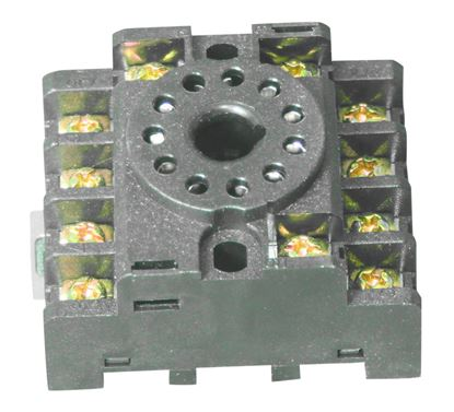 Picture of Model 3550416, 11 pin relay base