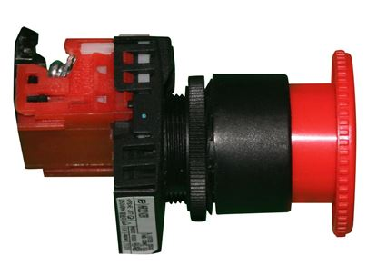Picture of Red emergency stop switch, 3700014