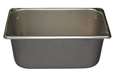 "Picture of Model B104, S/S 1/3 size pan, 6"" deep"