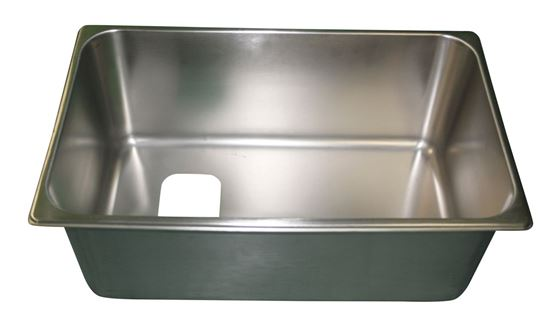 Picture of Full size pan with hole, B105