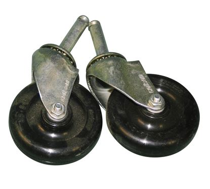 Picture of Set of small casters, B245