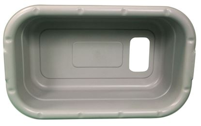 Picture of Gray plastic lug, B302G
