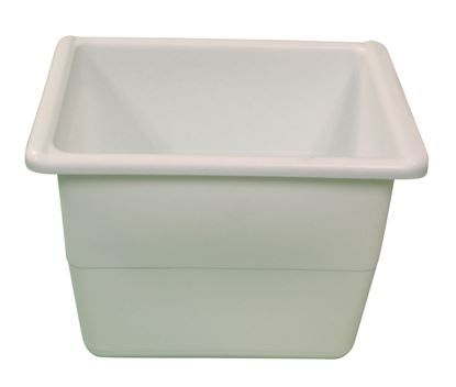 Picture of Model B304, white plastic dough ball pan
