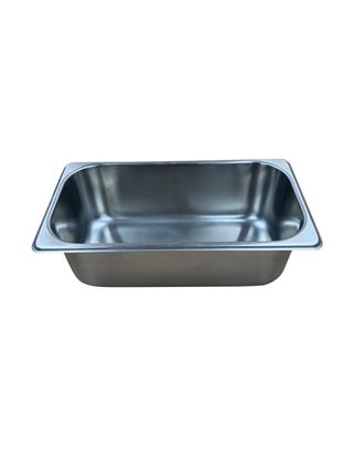 "Picture of Model B104-4, S/S 1/3 size pan, 4"" deep"