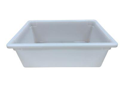 Picture of 5004526-070, white plastic tub
