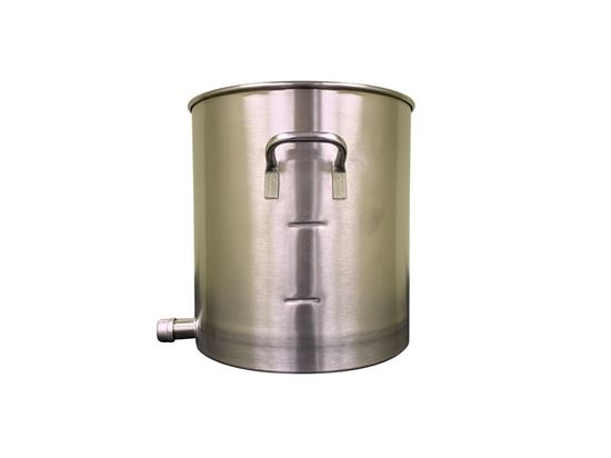 Picture of B628 - 8 gallon stainless steel tank